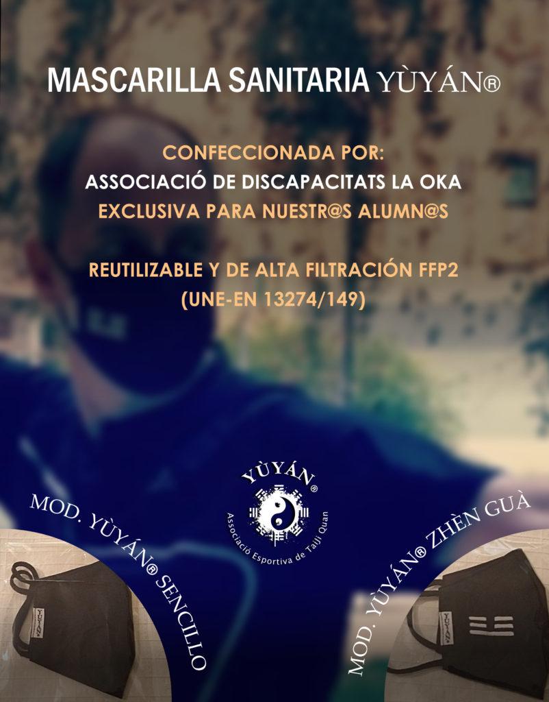 Yùyán | Mascarilla sanitaria FFP2